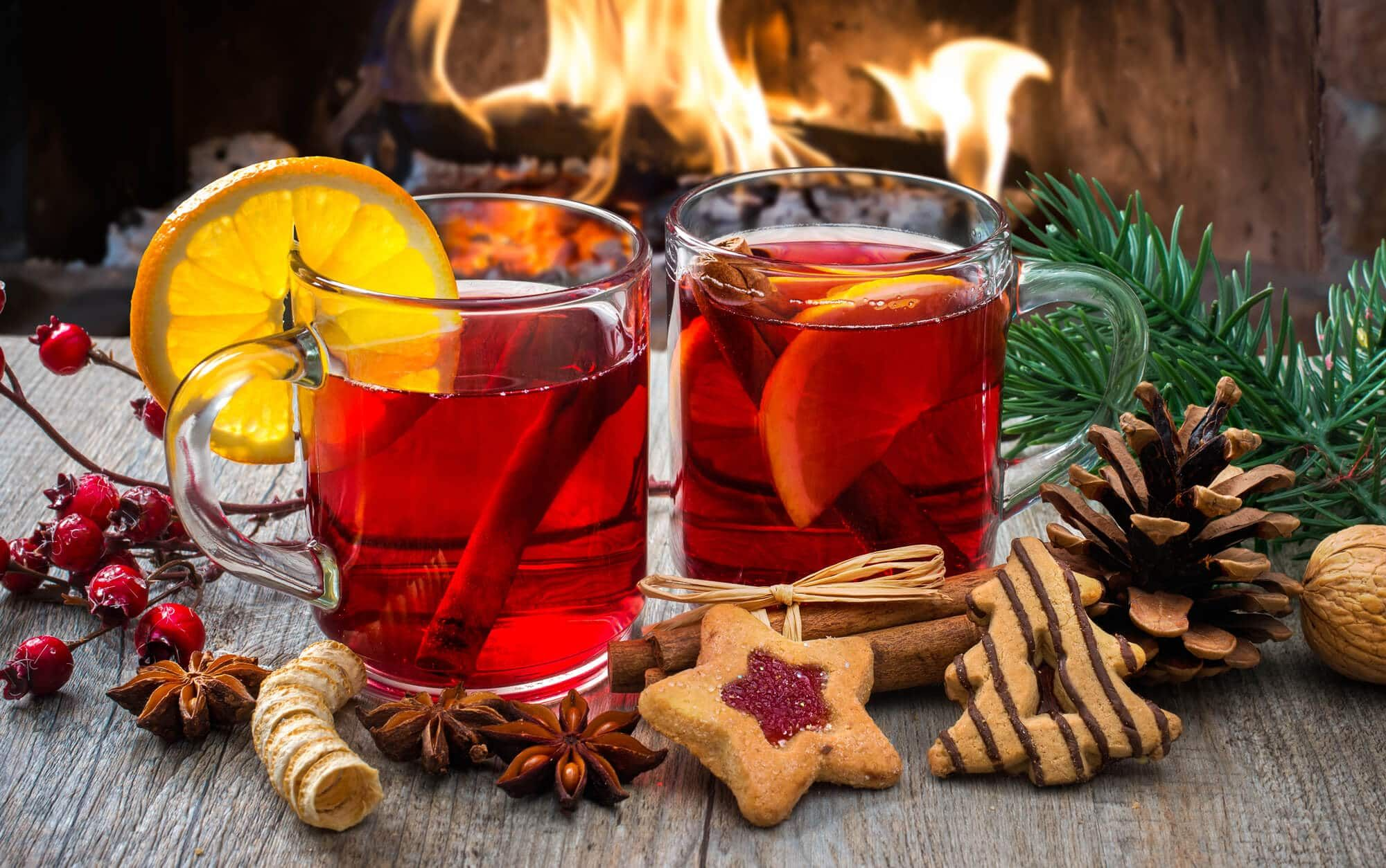 Kinderpunsch German Non Alcoholic Christmas Punch Recipe Non Alcoholic Christmas Punch Christmas Punch Recipes Non Alcoholic