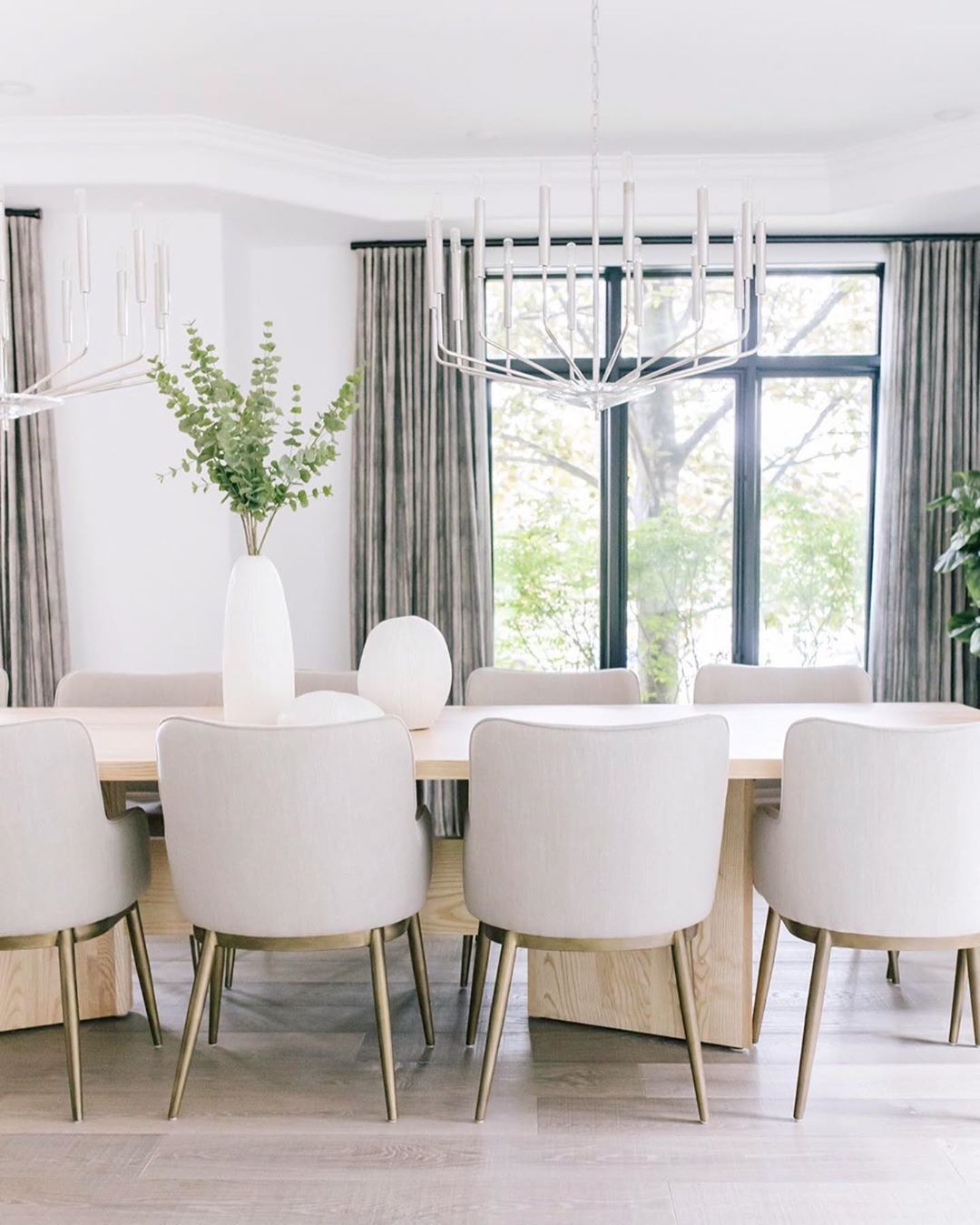 "Casual Dining Room Chandeliers: Hudson Valley Lighting On Instagram: ""The Perfect Casual"