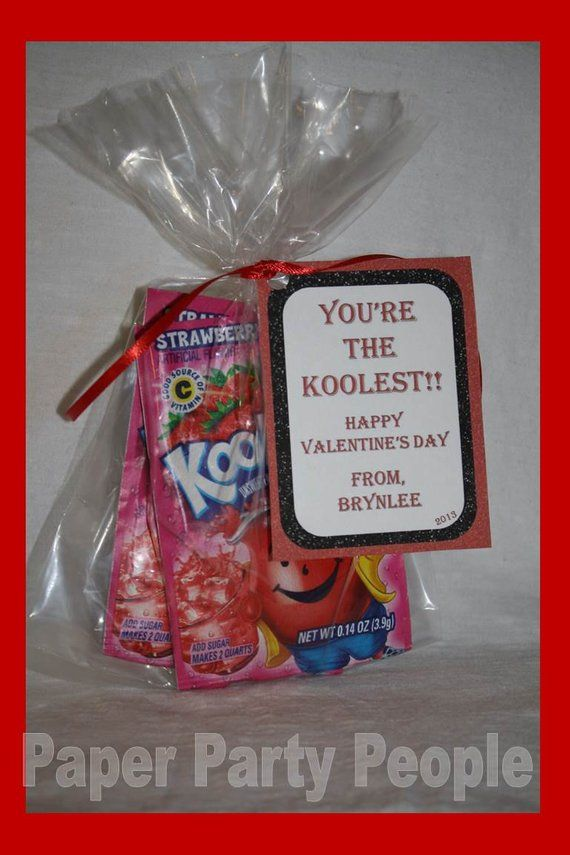 Valentines Day Class Party Youre The Koolest Printable Diy Treat