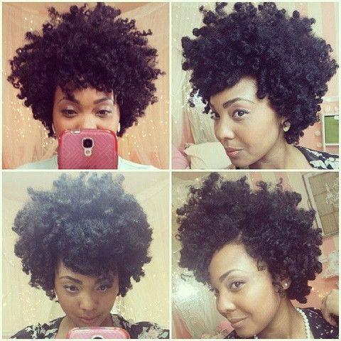 5 superbes coiffures sur cheveux crépus à lisses à tester