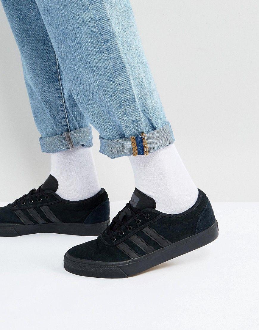 amplia selección de colores descuento hasta 60% más popular adidas Skateboarding Adi-Ease Sneakers In Black BY4027 - Black ...