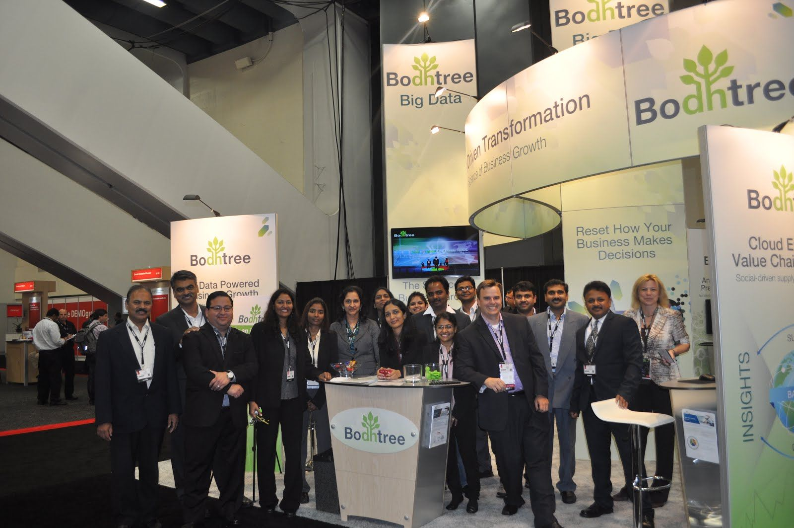 Thank You All For Visiting Bodhtree At Oow2013 We Hope To Work