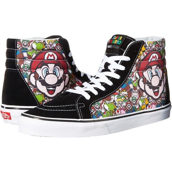 dd58f99df1a White High Top Sneakers · Vans SK8-Hi Reissue X Nintendo ((Nintendo) Mario    Luigi True