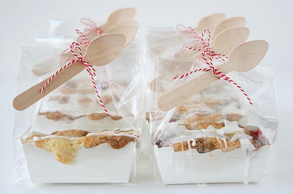 So Cute Mini Cherry Almond Crumb Cakes Made By Stephanie