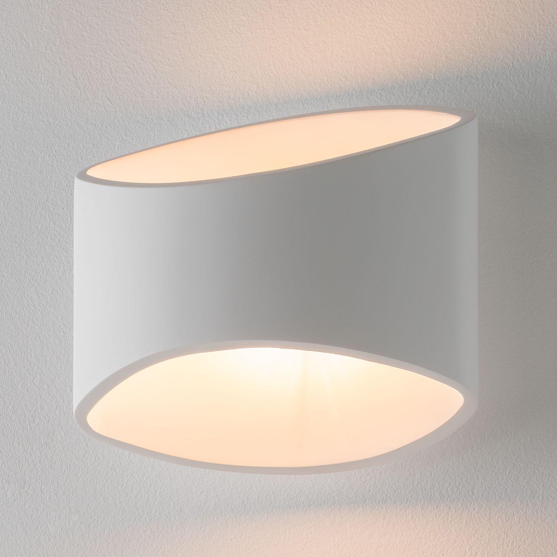 LED Keramik Wand Lampe Wohn Zimmer Beleuchtung UP Down Kugel Leuchte Big Light
