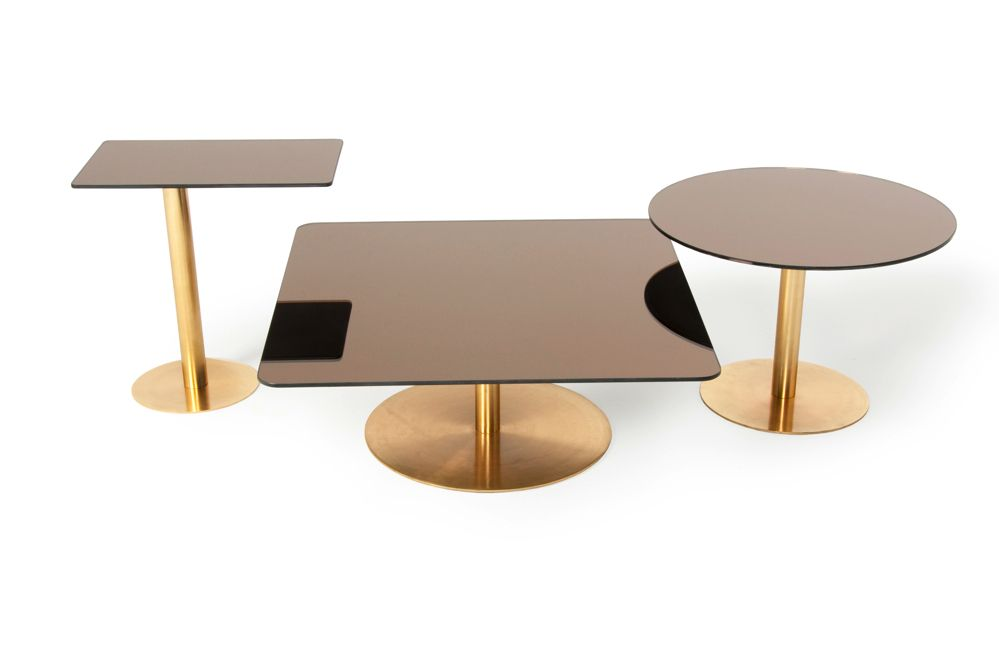 ORB LIGHTS AND FLASH TABLES BY TOM DIXON