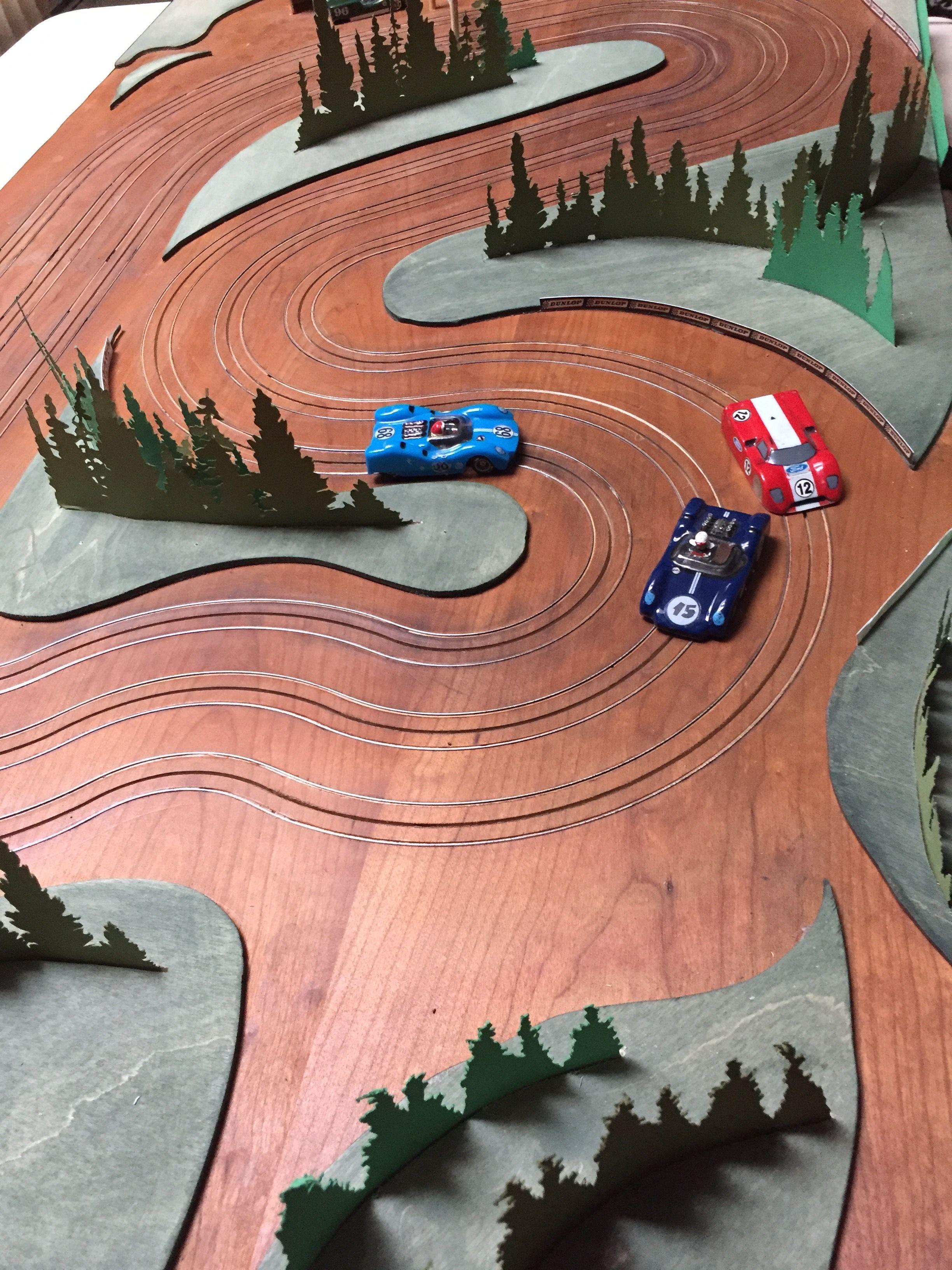 Ho slot racing....wood is good Slots Ho slot cars