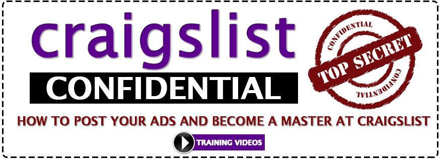 "How To Post ""ADS"" Using Craigslist (Stats Below) *** {373"