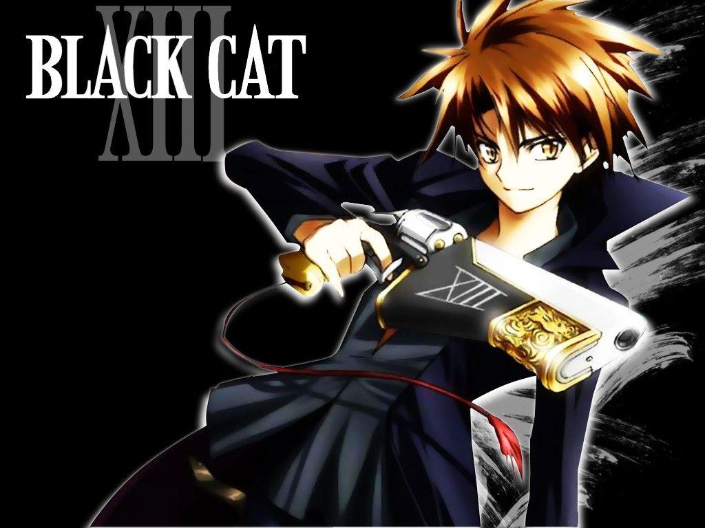 Black Cat Black Cat Anime Black Cat Black Cat Images Anime black cat wallpaper