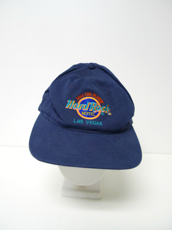 Hard Rock Hotel Las Vegas hat cap OSFA black Save the Planet #HardRock  #BaseballCap | Baseball Caps | Pinterest
