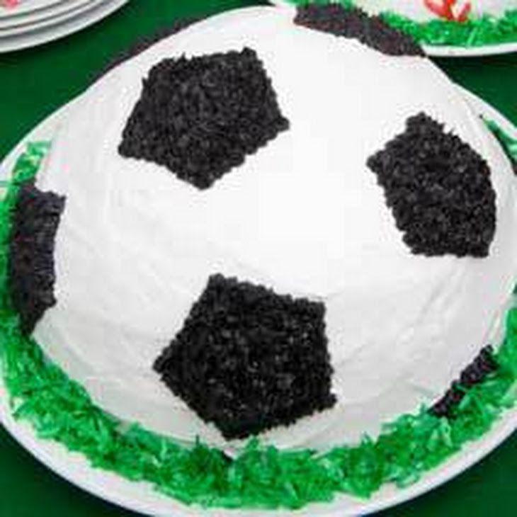 Soccer Ball Ice Cream Cake Ice Cream Cake Ice Cream Cake Recipe Soccer Cake