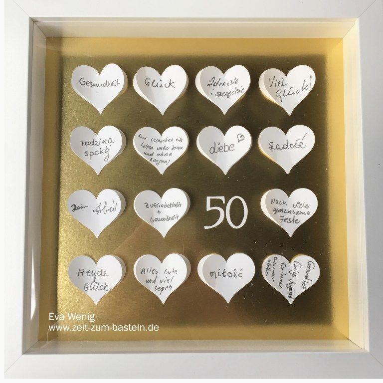 Goldene Hochzeit 50 Wunderbare Jahre Geschenke Zur