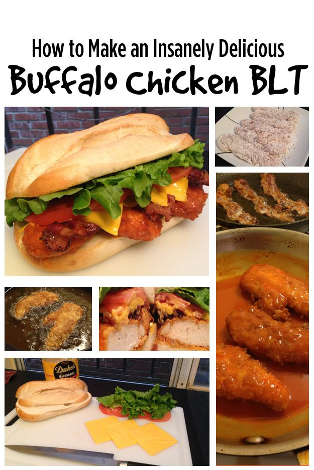 How To Make The Buffalo Chicken Sandwich Of Your Dreams
