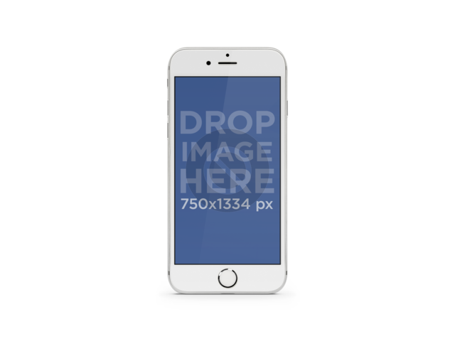 Placeit Iphone Png Mockup Of Portrait White Iphone 7 With Different Backgrounds Iphone White Iphone Iphone Mockup