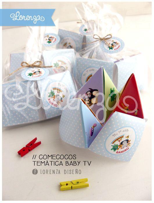 Temática de BABY TV. Todos los diseños son adaptables para nena o nene y 100% personalizados!  infolorenza@gmail.com / www.lorenzadiseño.com  FACEBOOK: LORENZA DISEÑO INSTAGRAM: @lorenzadiseno  ENVÍOS A TODO EL PAIS!