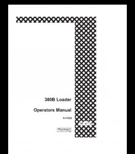 Best case 380b 380b ll loader operators manual download
