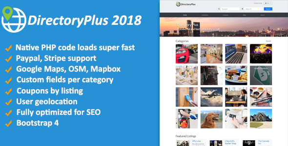 Directoryplus Business Directory Codecanyon Item For Sale Creating A Business Optimization Business