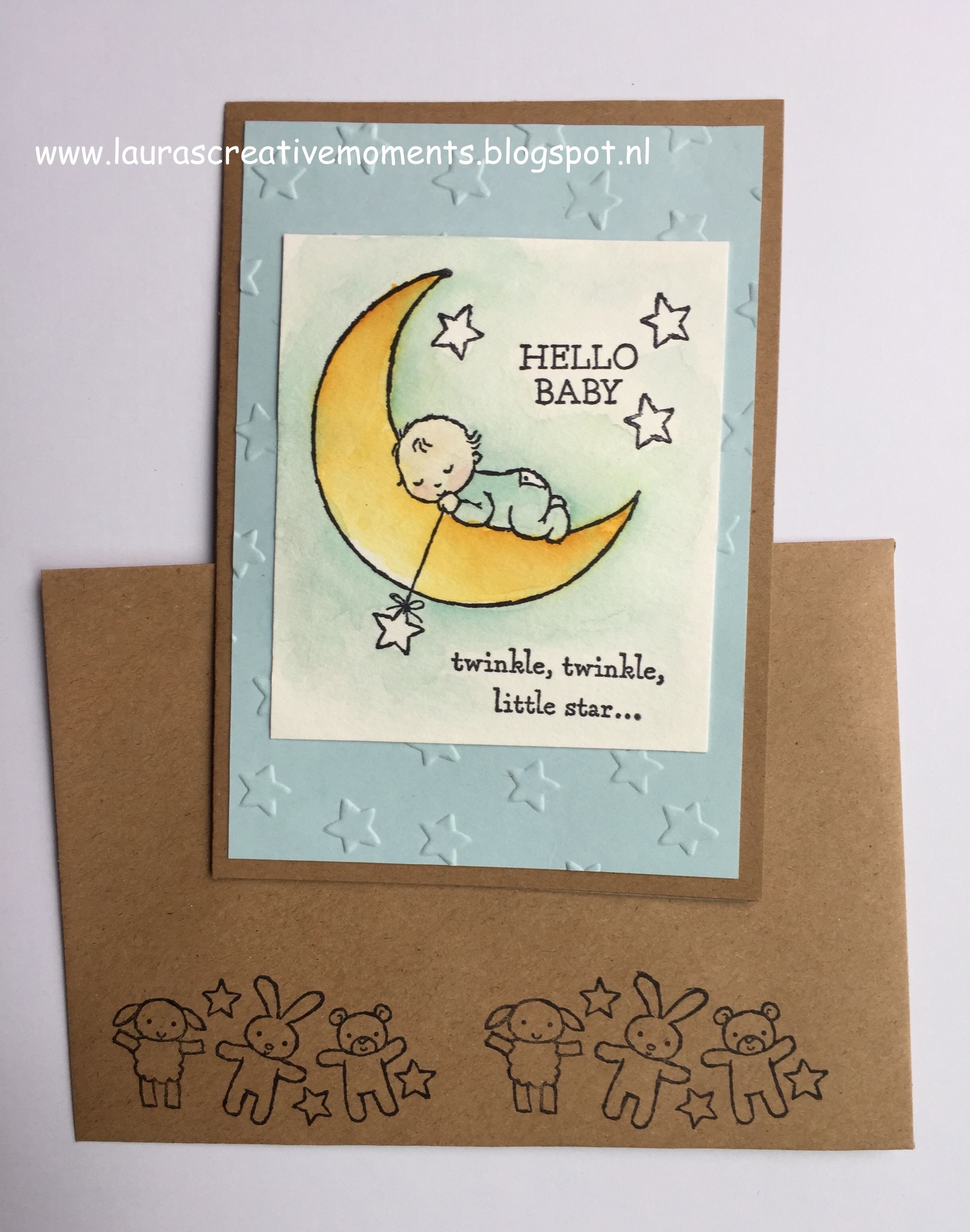 Babykaarten moon baby stempelset baby cards card ideas and moon moon baby stampin up springsummer 2017 catalog baby kristyandbryce Images