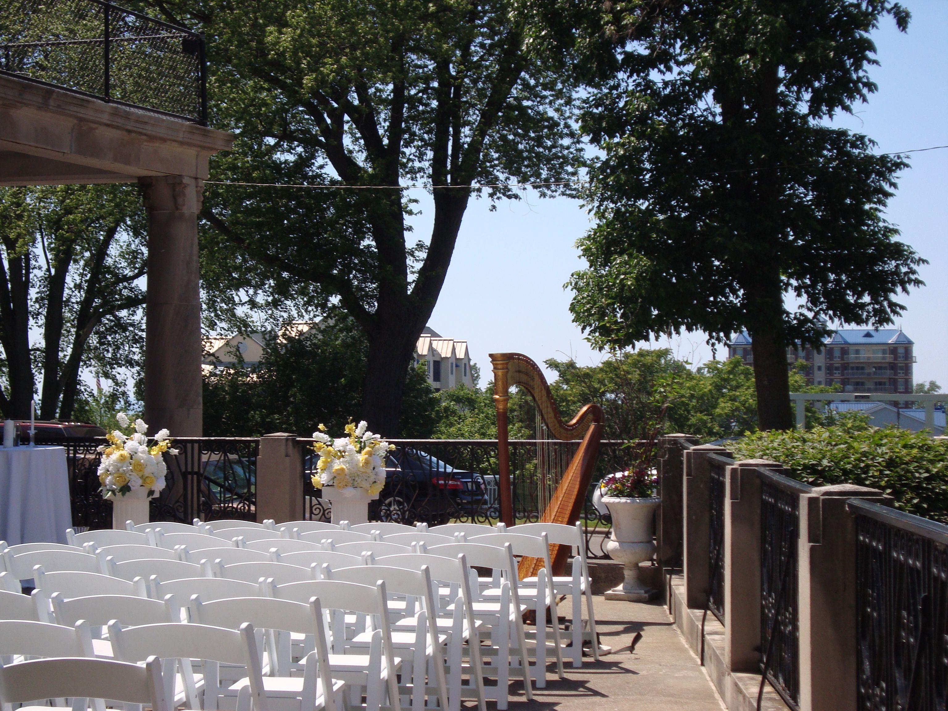 The Veranda At The Whitcomb St Joseph Mi Outdoor Weddings