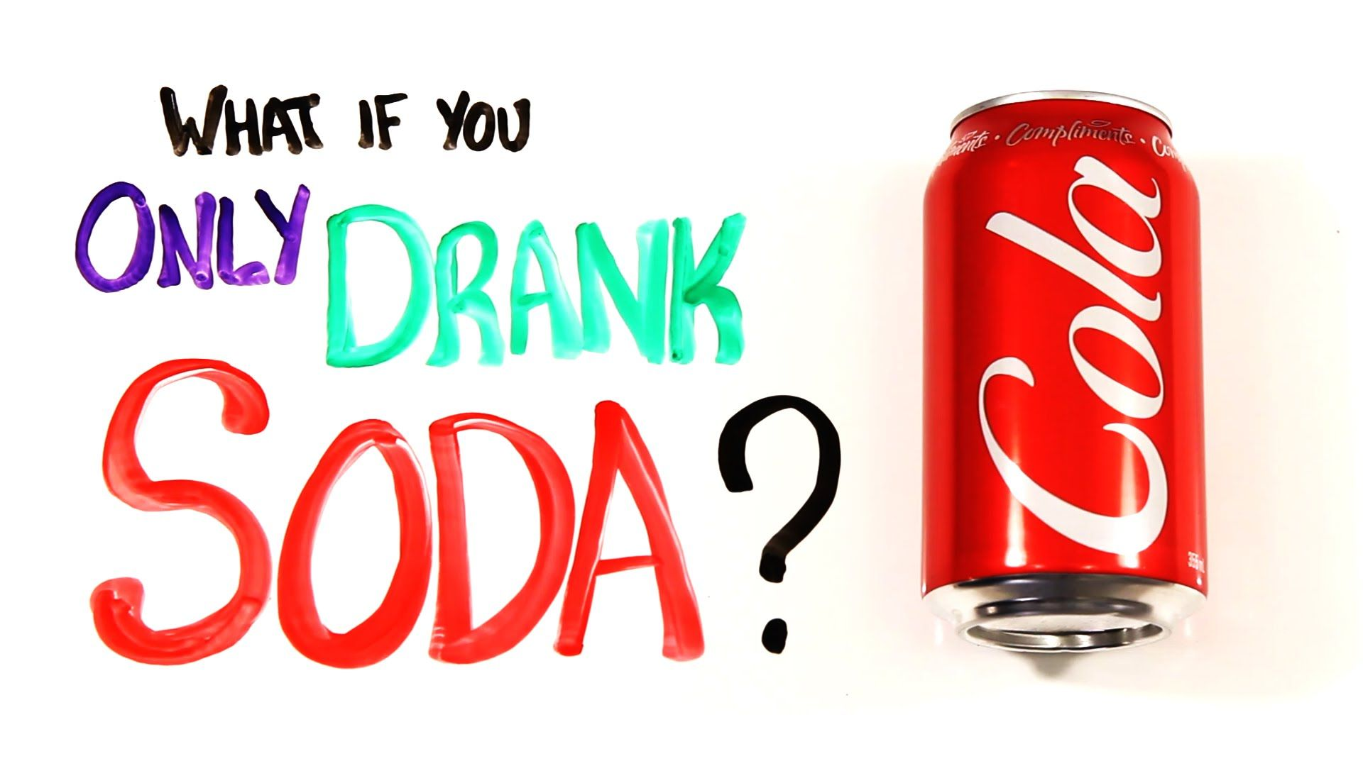 WHAT WOULD HAPPEN IF YOU JUST DRANK SODA? Drinks, Human