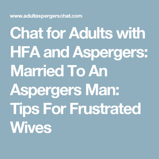 Dating tips for men with aspergers