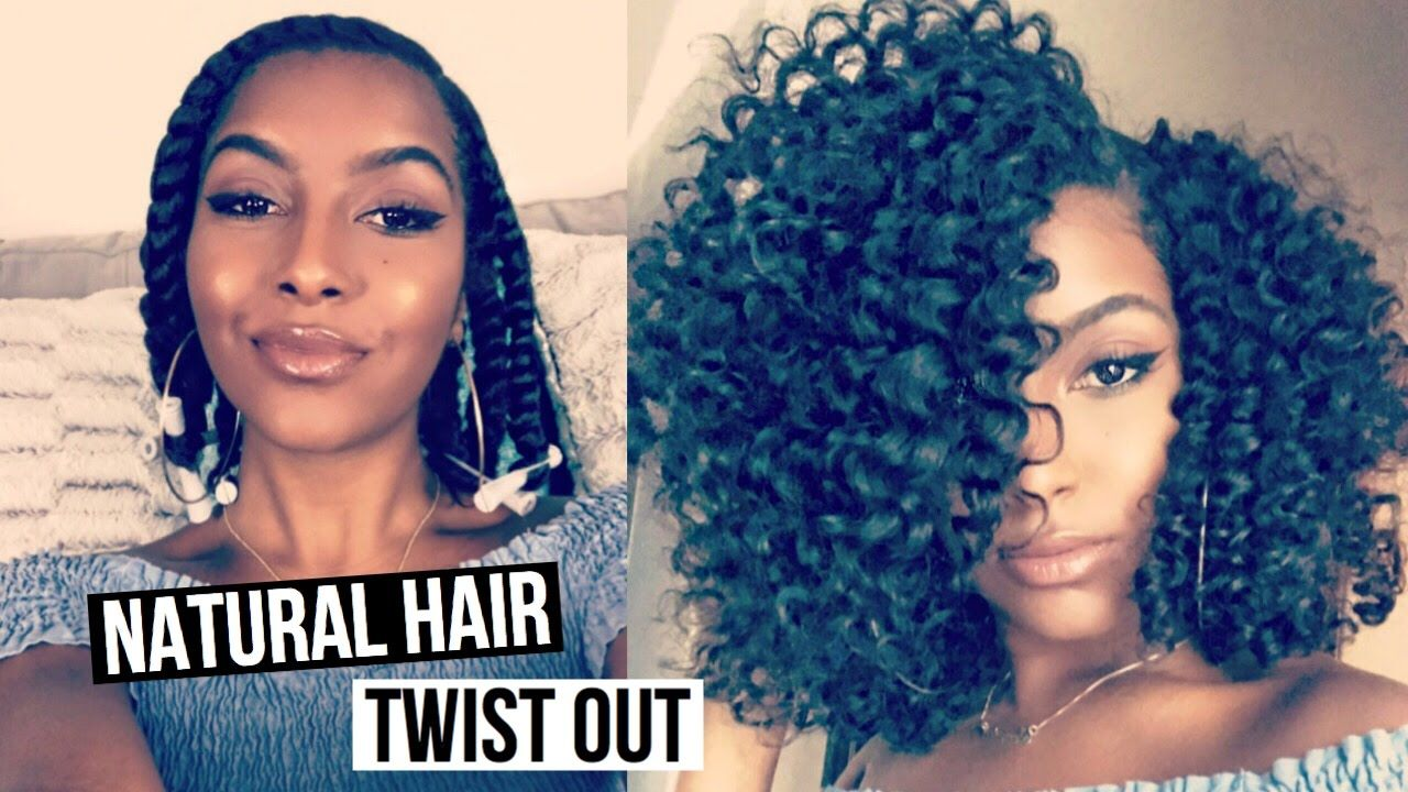 Twist out tutorial on my new haircut youtube natural hairstyles