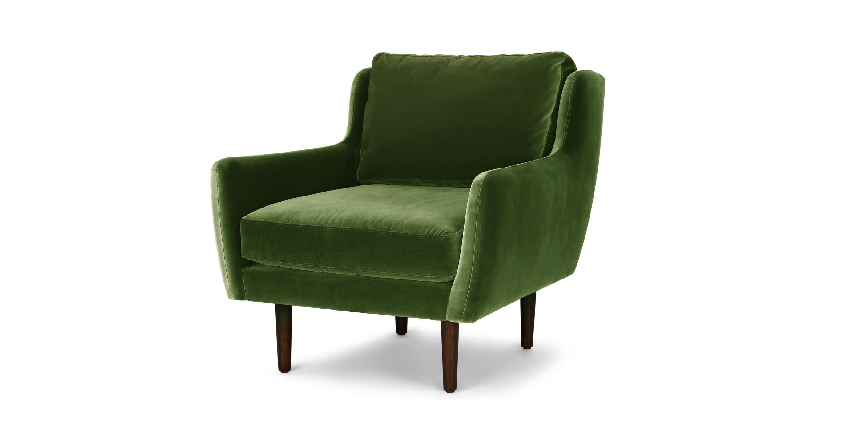 Best Matrix Grass Green Chair Mid Century Modern Lounge 400 x 300