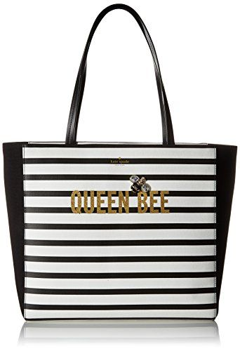 Kate Spade New York Down The Rabbit Hole Queen Bee Hallie Tote Bag Katespade Bags Canvas Lining Polyester Hand Cotton