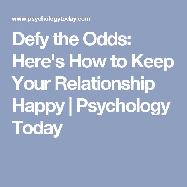 Psychology today dating advice