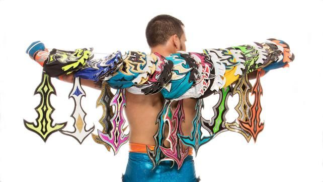 A rare look at Kalisto: photos | WWE.com | fave wrestlers ...
