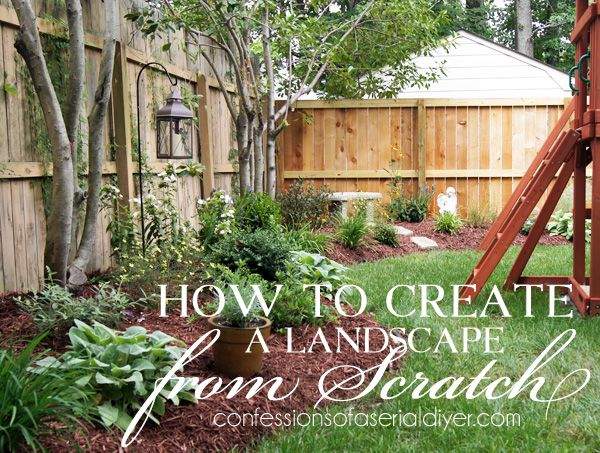 A complete guide to creating a landscape you 39 ll love for Open yard landscaping ideas