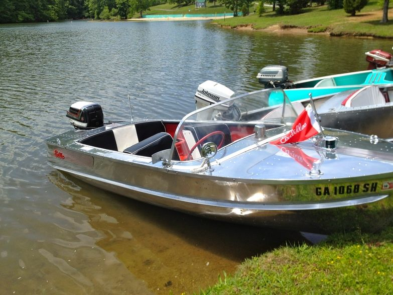 aluminum runabout - Google Search | Vintage Boats | Pinterest | Boating, Aluminum boat and ...