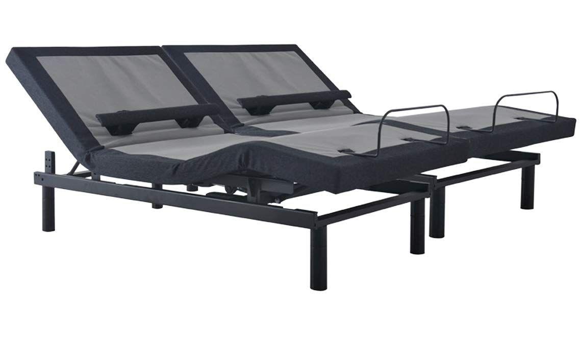 Amazon Com Sven Son Split King Adjustable Bed Base Lumbar