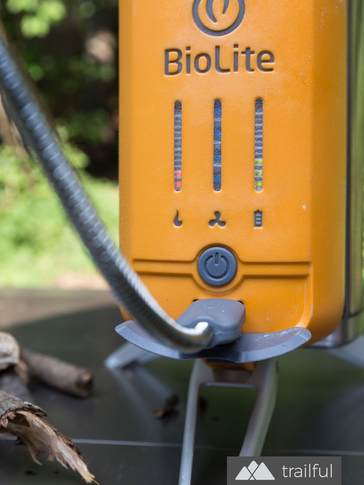 Biolite Campstove 2 And Portable Grill Review Outdoor Gear Wire Leads To Provide Additional Functions Such As Powering Trailer Trailful