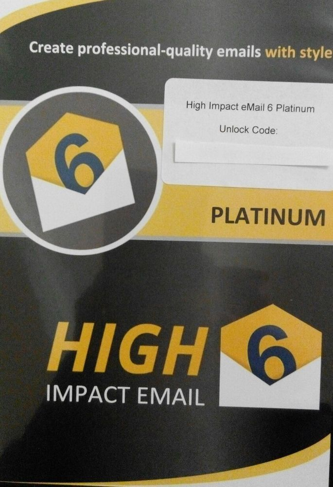 Details about High Impact Mail - Professional Email Design