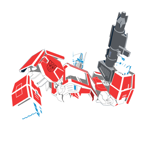 Awesome 'Transformers+-+Optimus+Prime' design on TeePublic!