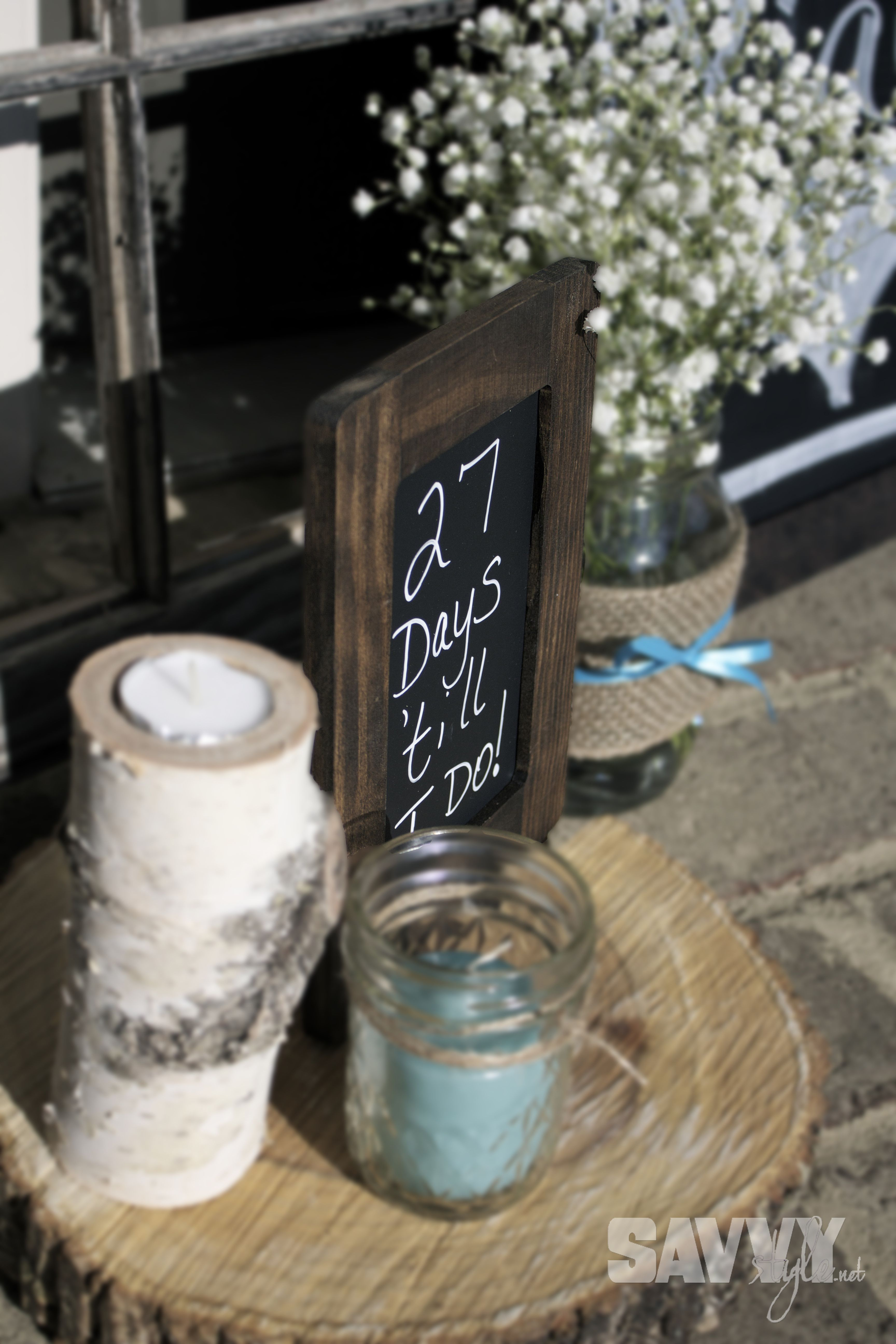 rustic bridal shower entrance use it for the baby shower pirate