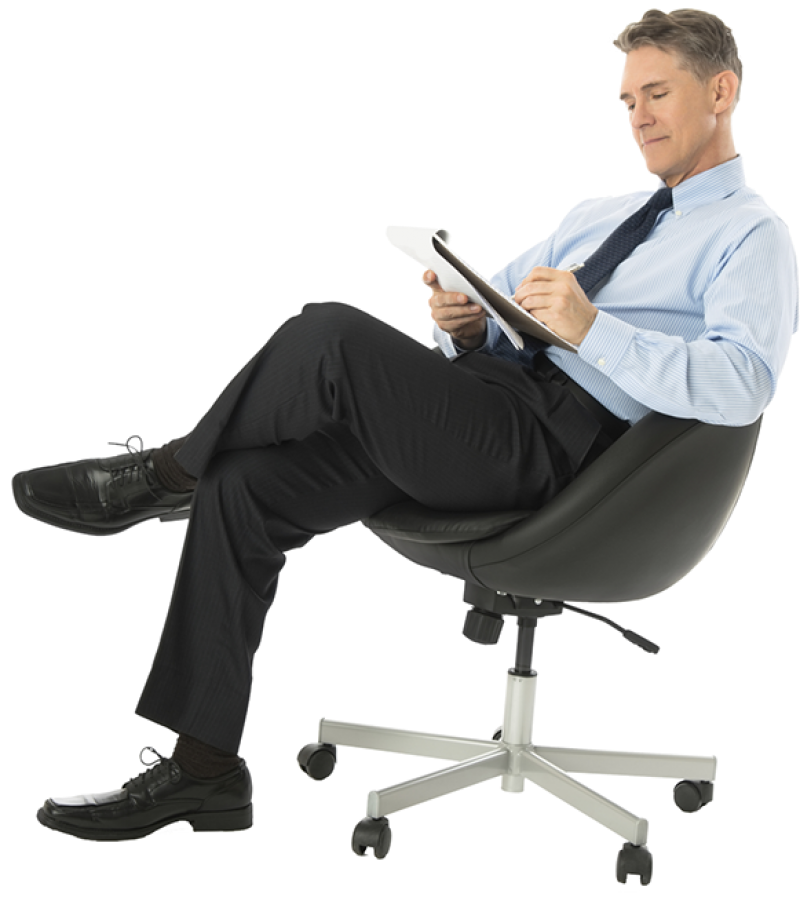 Sitting Man Png Image Purepng Free Transparent Cc0 Png Image Library Man Office Chair Man Sitting