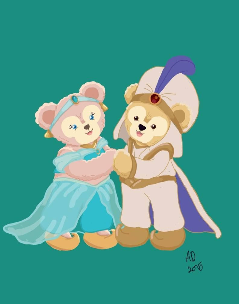 Image Result For Disney Duffy Art ディズニーアート ディズニー