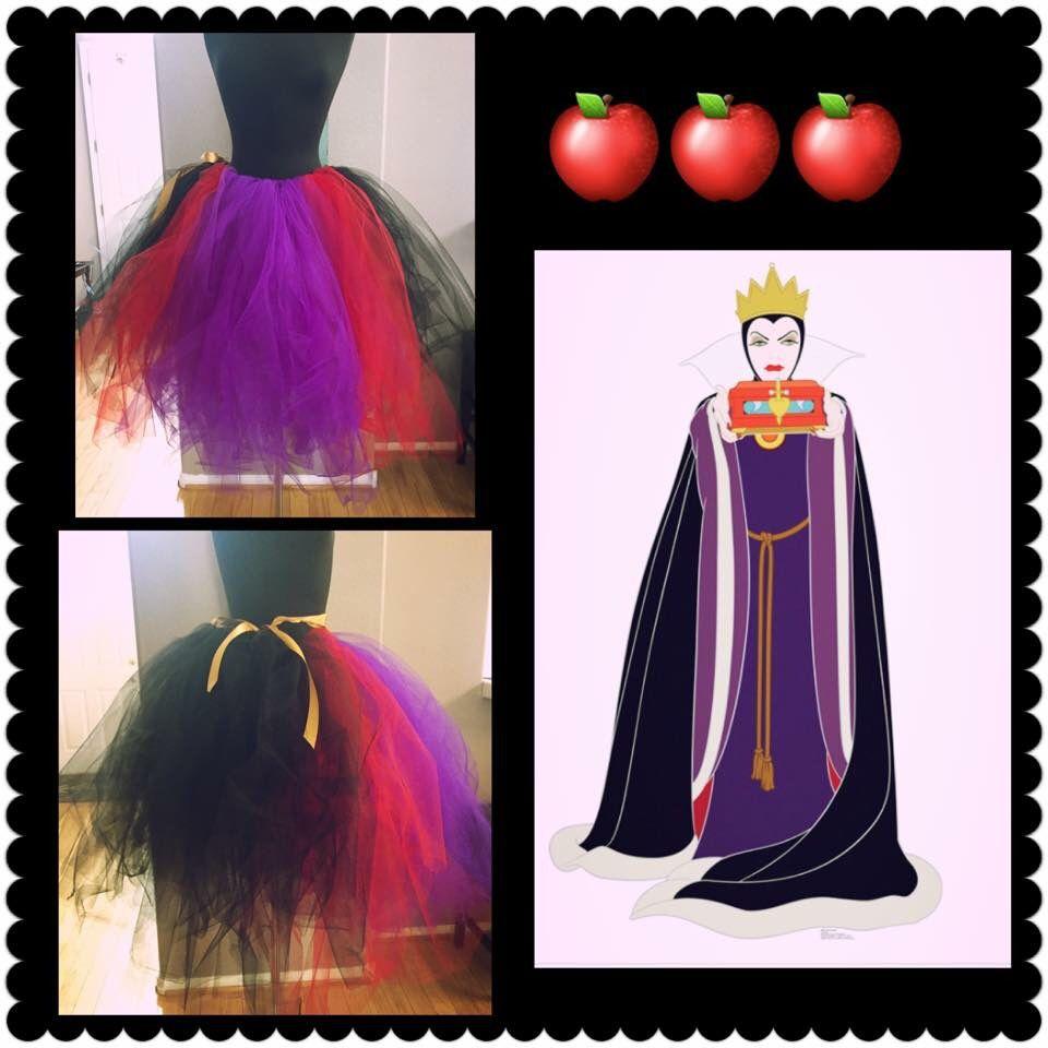 Evil queen tutu  $25.00  Www.magicalWDWcouture.etsy.com