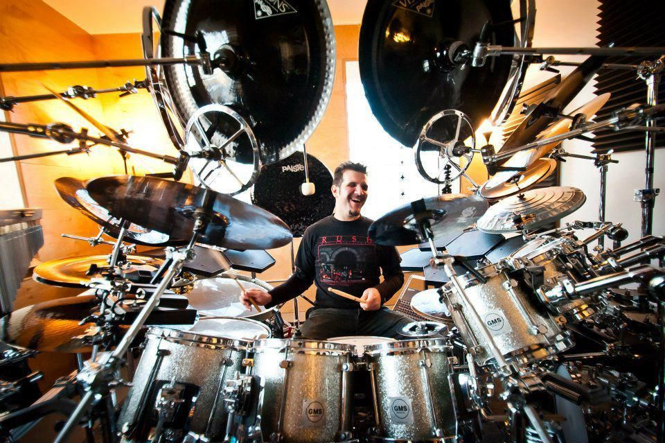 Professional musician, drummer Charlie Benante