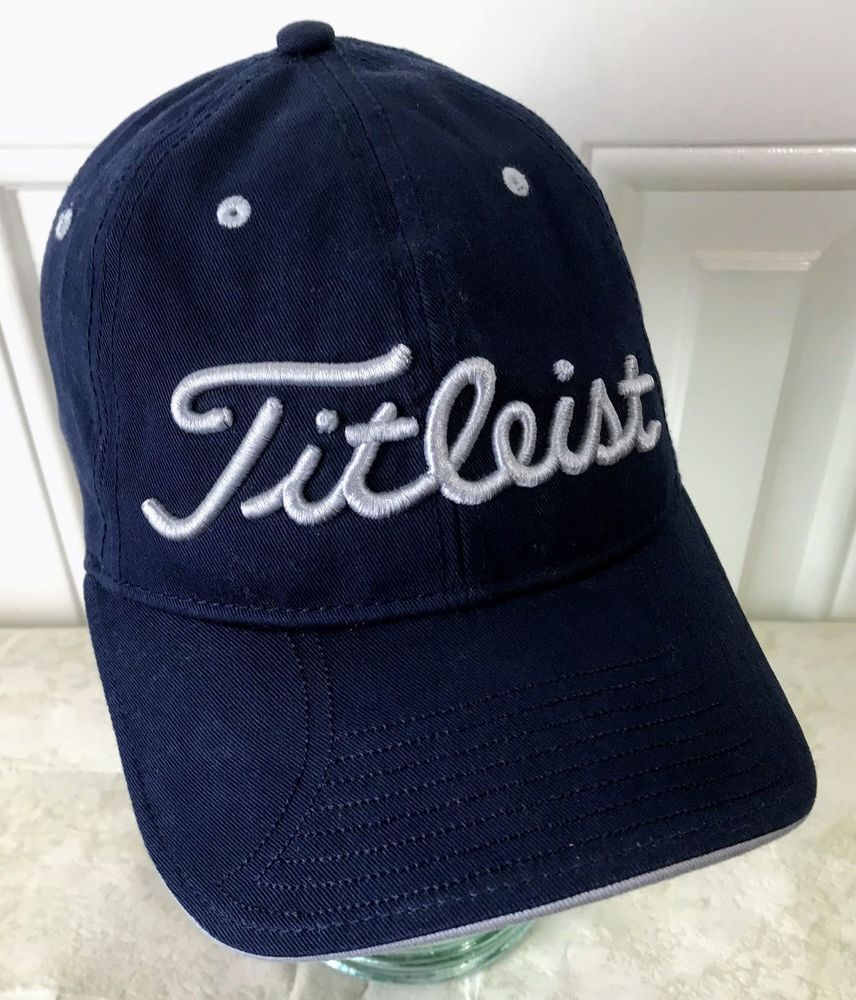 Titleist Golf Hat Spell Out Embroidered New Era Cap Strapback  NewEra   BaseballCap 3374fdc43f6