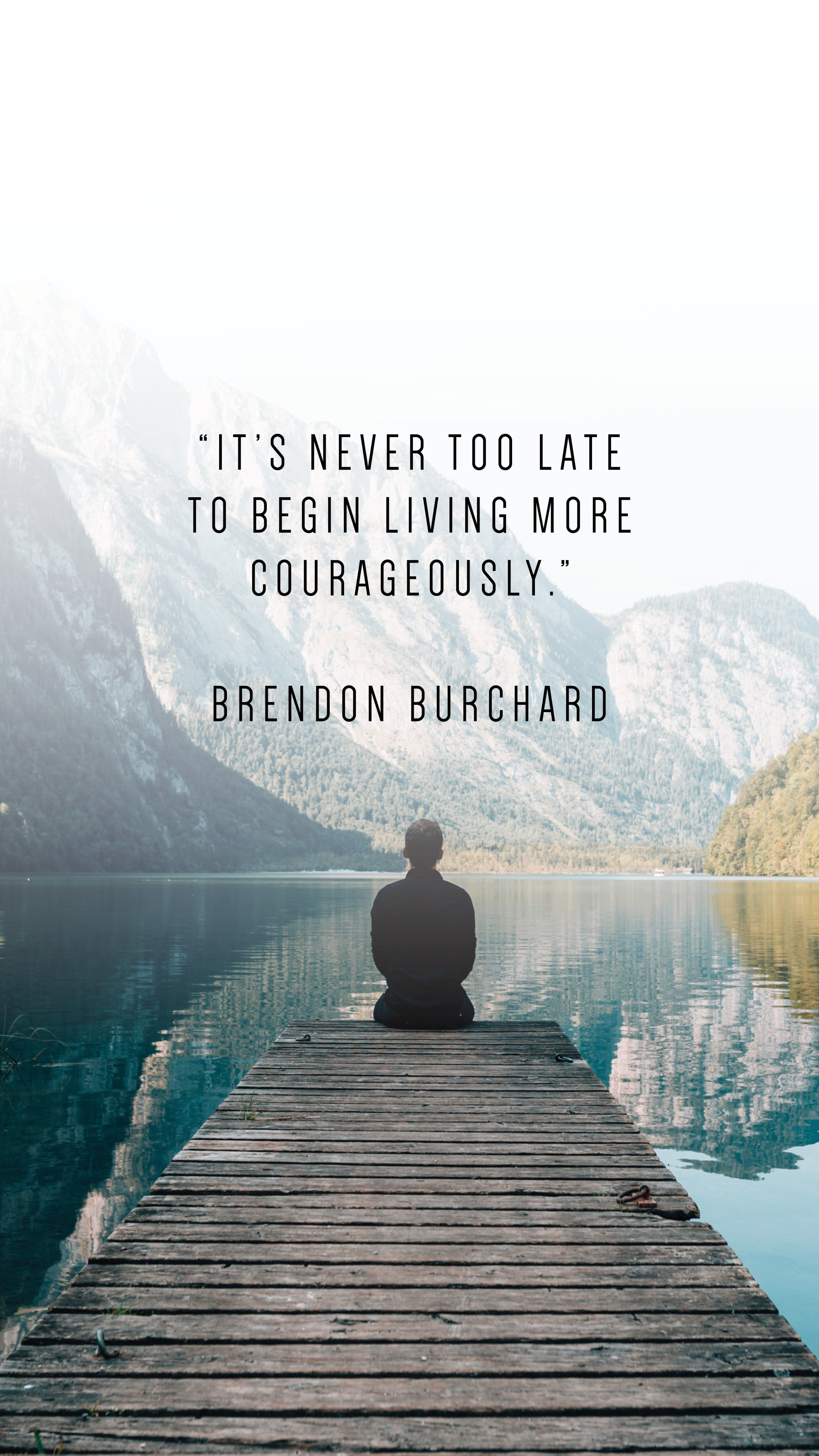 30 Phone Wallpapers To Inspire Writing From Nowhere In 2020 Brendon Burchard Quotes Words Quotes Positive Quotes