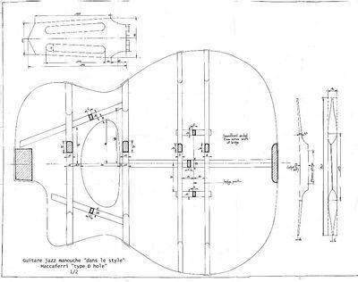chapitre 6 plans lutherie guitar pinterest lutherie guitares et plans. Black Bedroom Furniture Sets. Home Design Ideas