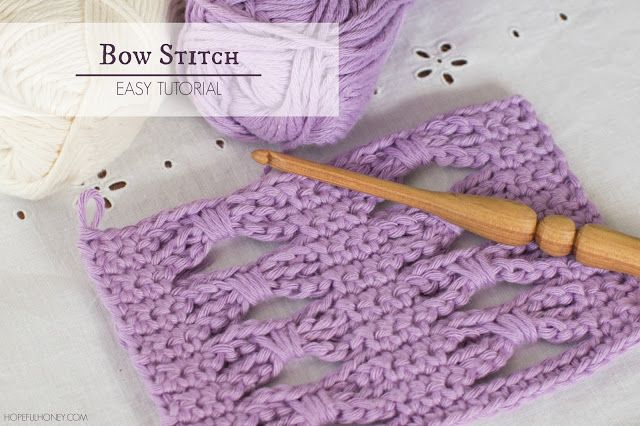 How To: Crochet The Bow (Butterfly) Stitch - Easy Tutorial ...