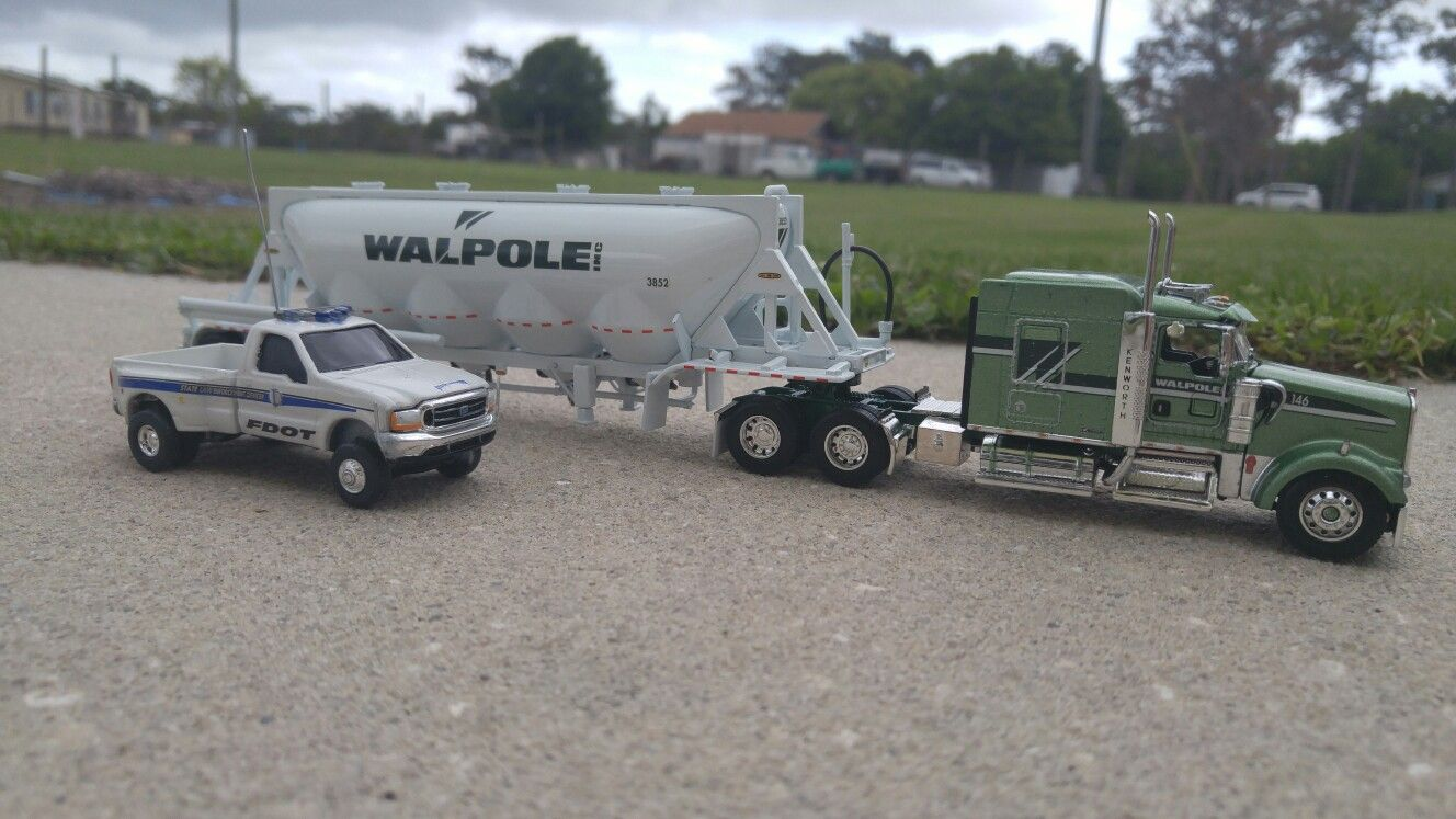 1 64 scale trucks and trailers - Sweet Kw