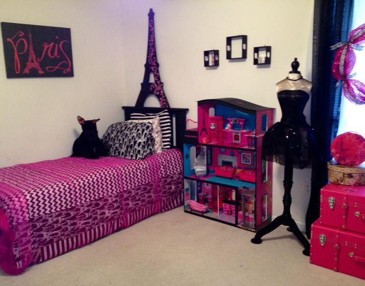 Pin By Aiyana Rogers On Cute Room Fecors Little Girl Bedrooms Girl Bedroom Designs 6 Year Old Girl Bedroom