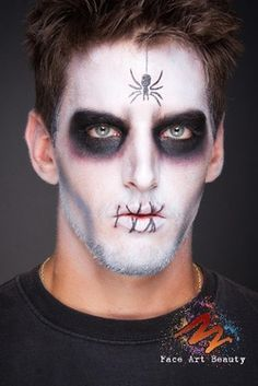 Best Easy Halloween Makeup Men Contemporary - harrop.us - harrop.us