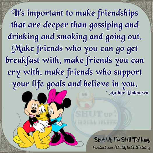 Quotes About The Importance Of Friendship Brilliant Importanttomakefriendships 525×525  Whatnot Sayings