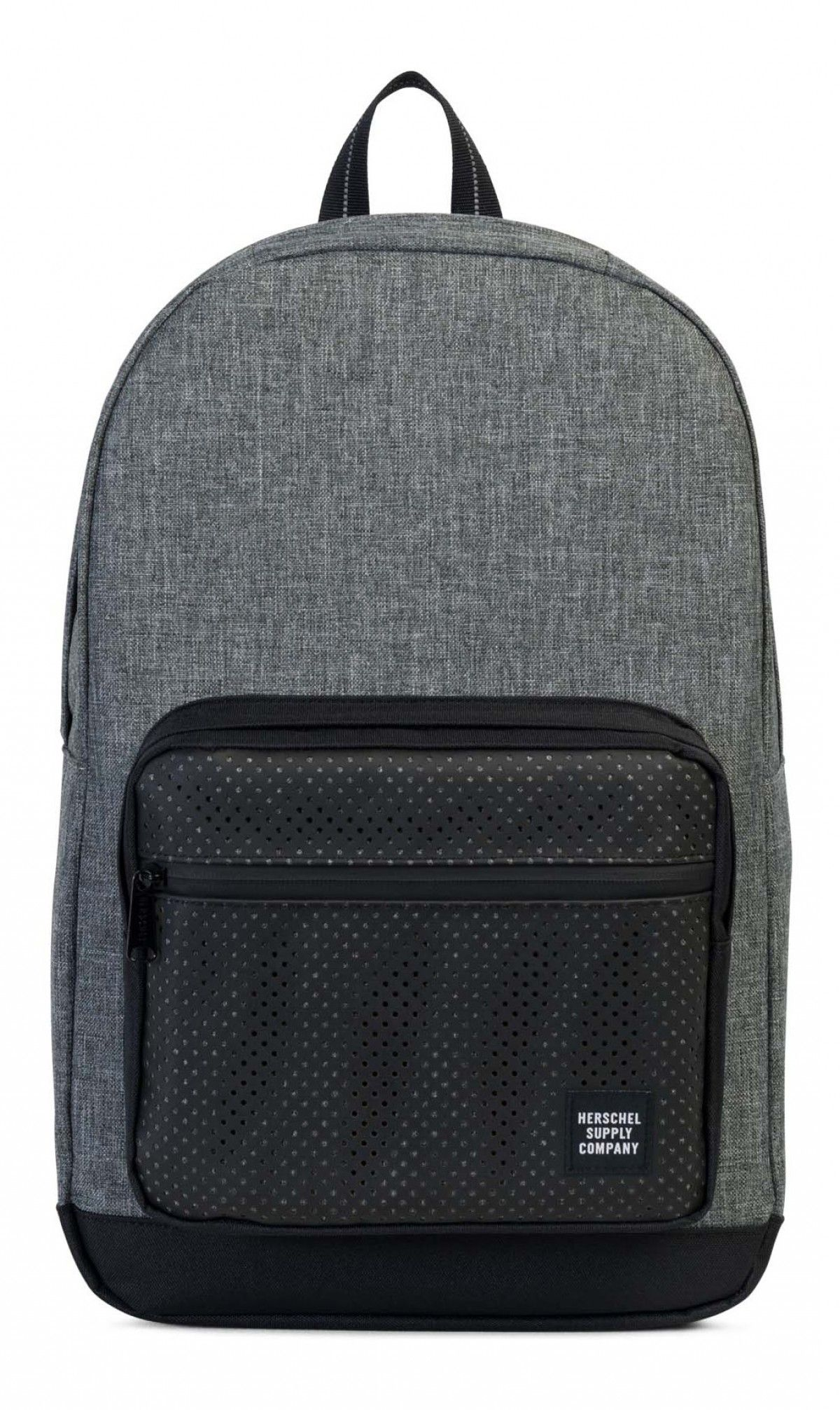 5abddc3187e Herschel Pop Quiz Backpack Aspect Poly Raven Crosshatch/Black ...